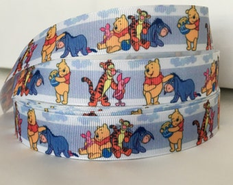 5 YDS Winne The Pooh and Friends Ribbon