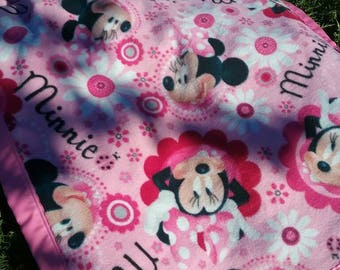 Minnie Mouse Baby Toddler Blanket