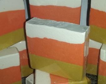Candy Corn Cold Process Soap