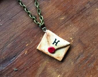 Harry Potter Hogwarts Letter Necklace