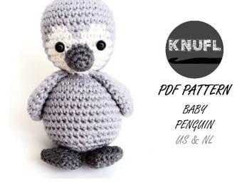 CROCHET PATTERN Baby penguin