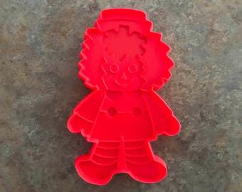 Raggedy Andy Cookie Cutter