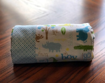 Baby Bot Animal Blanket