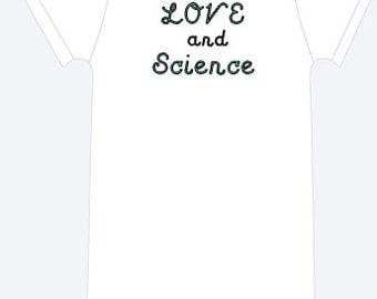 IVF Love and Science Onesie