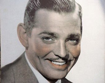 Clark Gable Sepia 6x8 Photographic Print