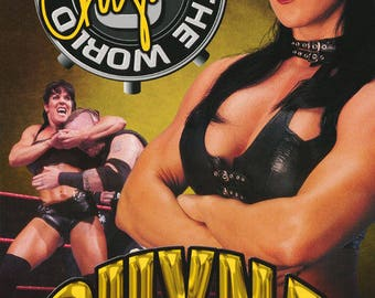 Wrestling WWF Chyna 9th Wonder Of The World  Poster