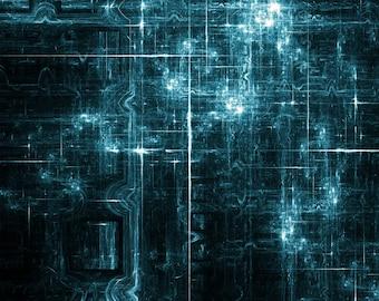 Quantum Connections, Canvas Print By CrownosArts