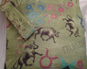 Taurus DPN , Taurus bag, Zodiac bag wedge, Taurus Bull bag, Crochet bag Zodiac