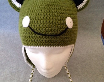 Crochet frog hat, Girls hats, Boys hats, Cute animal hats, Autumn hats, Hats with ears, Childrens hats