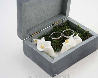 Ring cushion / ring box / ring box / soapstone