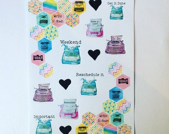 My story decorative sticker sheet