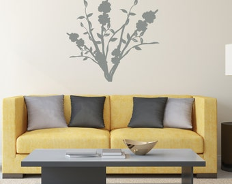 Floral Arrangement - Vinyl Wall Decal