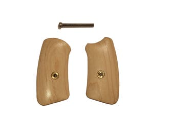 Triceratops Customs Ruger SP101 Maple Grip Inserts