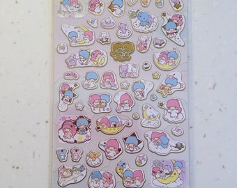 Sanrio stickers - My Melody/Hello Kitty/Little Twin Stars
