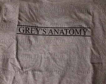 Grays anatomy shirt