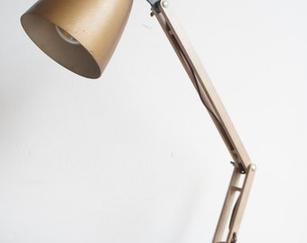 Mid century vintage Terence Conran Maclamp desk lamp