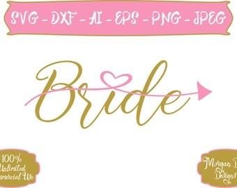 Bride SVG - Diamond Ring SVG - Wedding SVG - Bride To Be svg - Future Bride - Files for Silhouette Studio/Cricut Design Space