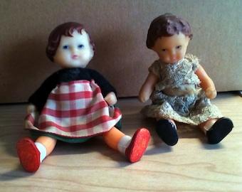 Two ARI German Rubber Dolls