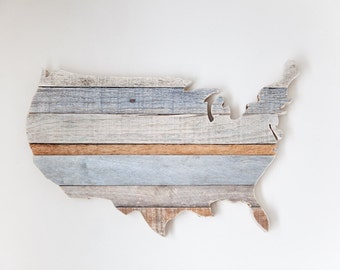 Rustic Home Decor, Farmhouse Decor, US Map, Wood Map, Rustic Wall Decor, Wooden Map, Farmhouse Wall Decor, Room Decor, Adventure Nursery