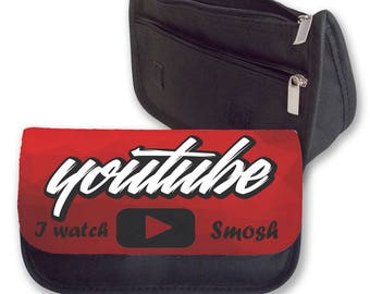 I WATCH SMOSH Pencil case / Clutch - make up bag