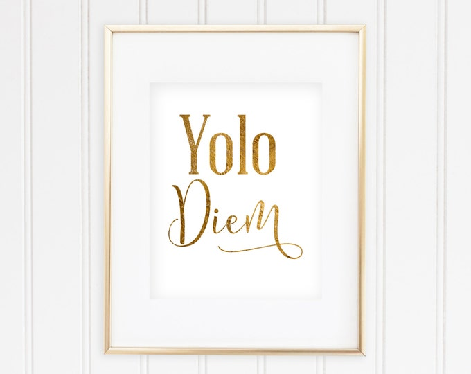 Yolo Diem  - Real Gold Foil