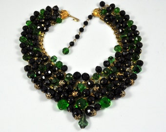 Sale! Fabulous 60's statement choker necklace