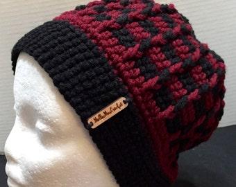 Crochet Hat 5 Adult XL, Crochet Unisex Hat, Gamecocks, Gamecock Hat, Crocheted Gamecock Beanie