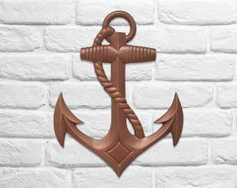 """Anchor 22"""" Wall Decor"""