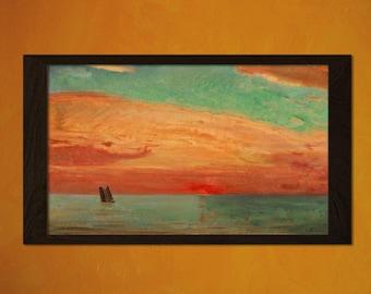 FINE ART REPRODUCTION Japanese Art Fujishima Takeji Artwork Ukiyo-e Art   Oriental  Asian Art Edo Period Japanese Artist