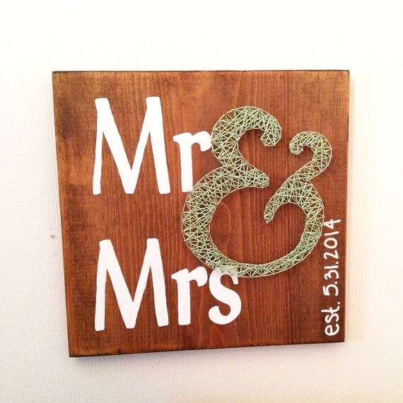 Mr & Mrs Wedding string art, Anniversary, wedding, anniversary ...