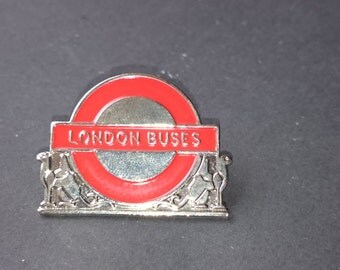 London Buses Lapel badge