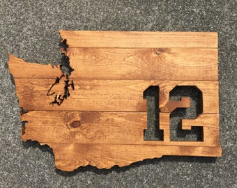Seattle Seahawks 12th Man Wood Sign, Seattle Seahawks Washington Sign, 12th Man, Hawks, Man Cave, Wood 12th man, Seahawks Sign, Seahawks