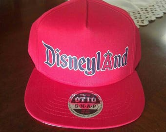 Disneyland / California Angels Mashup Hat (snapback)