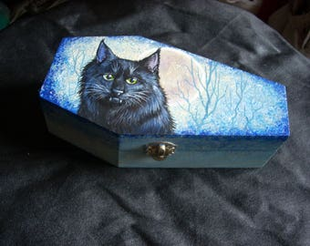 Coffin Box- Dracula's cat, Seymore