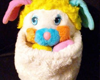 "Vintage 1986 Mattel 12"" Puff Ball POPPLE Plush Doll!!!"