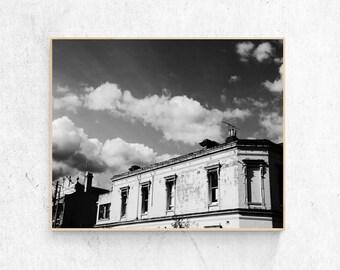 Carlton, Melbourne (Black and White)