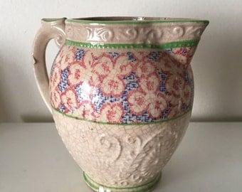 sale--Japan K floral creamer pitcher
