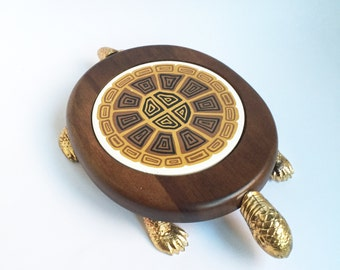 Vintage Turtle Cheese Server
