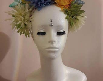 Frida flower hairband