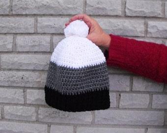 Ombré Crochet Hat