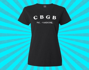 CBGB - Ladies Black Tshirt