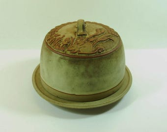 Vintage Tremar Cornish Studio Pottery Cheese Dome, Country Kitchen Cheese Cover, Retro Cheese Dish, Mid-Century Cheese Dome, Kitchenware