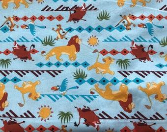 Disney Lion King fabric, Disney fabric, Simba fabric, cartoon fabric, Disney