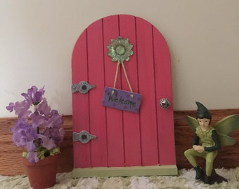 Miniature Fairy Door, Miniature Fairy, Miniature Potted Plant, Miniature Fairy Door Kit, Fairy Door Kit