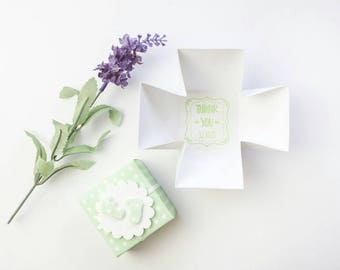 Christening Favors - Baptism Favours - Christening Thank You Box - Christening Favour Box - Baby Shower Favours - Baby Shower Favor Boxes