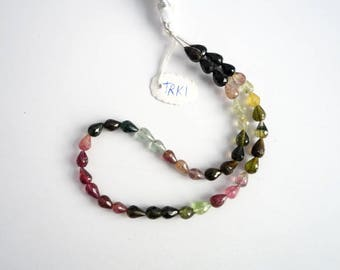 Tourmaline Faceted  Drops TRK1