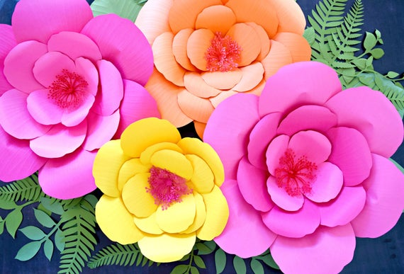 hibiscus paper flower templates giant paper flower templates tutorials printable templates. Black Bedroom Furniture Sets. Home Design Ideas
