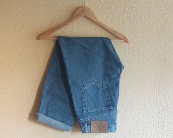 Vintage 90's Calvin Klein Blue Jeans