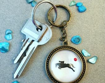 """Key fob """"Equestrian"""""""