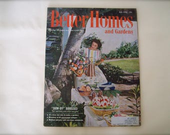 Better Homes and Gardens Magazine June 1958. Price Includes Shipping.
